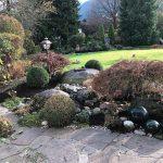 Staudenbeete im Garten