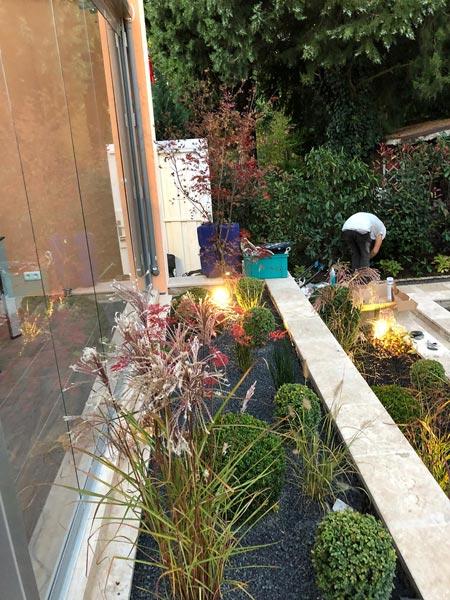 Mitarbeiter Gartenbau
